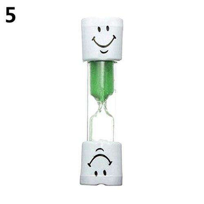 Kids Tooth Brushing Timer - Green,Yellow,Red,Blue,Purple,Pink | Deal Mission