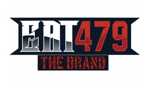 Eat479 the brand sticker - EAT 479 the brand