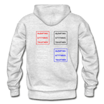 EAT the hoodie - light heather gray