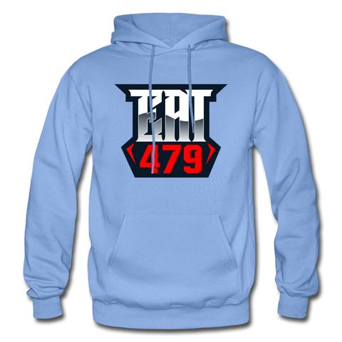 EAT the hoodie - carolina blue