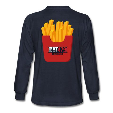 Fries - navy