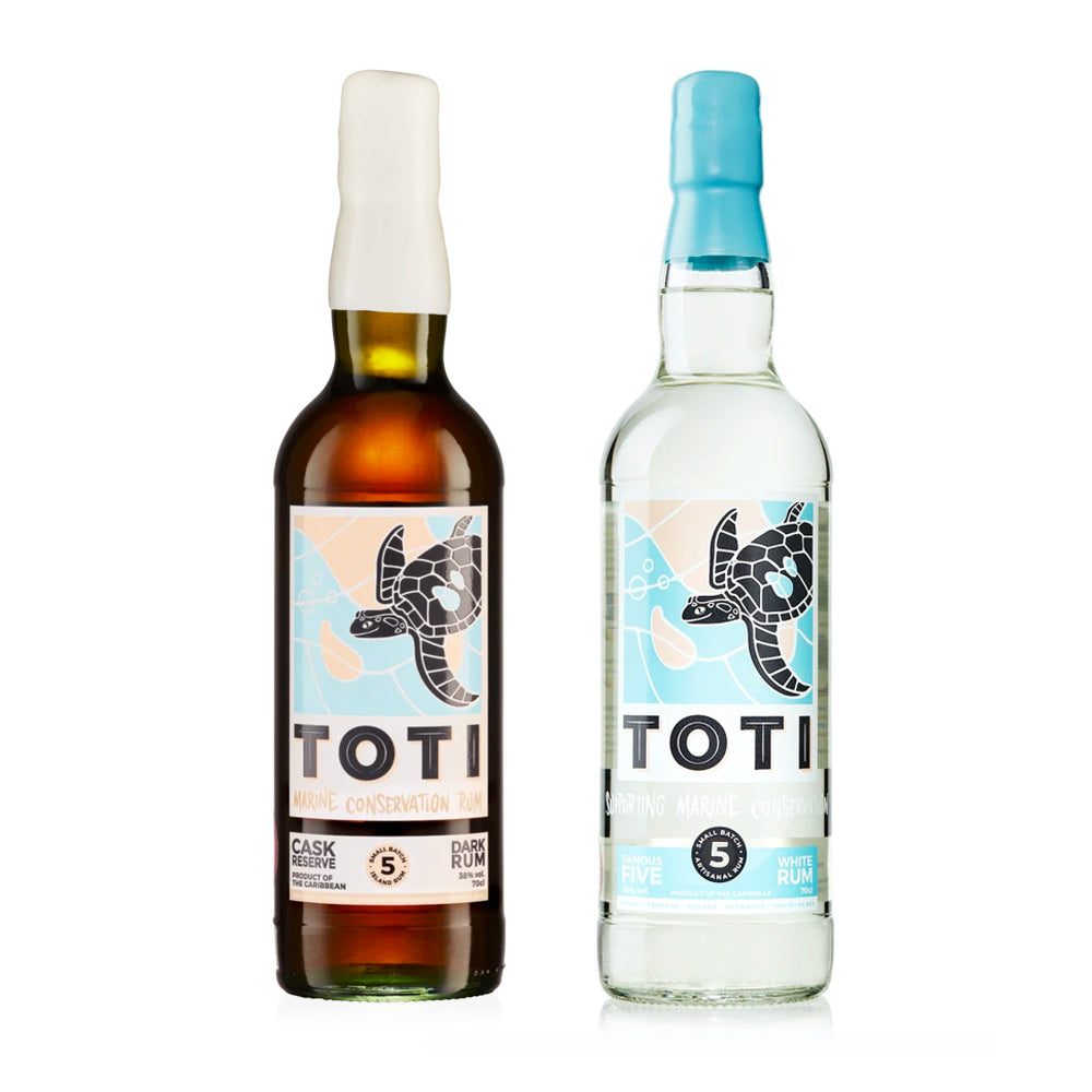 Toti Dark & White Rum Double Pack