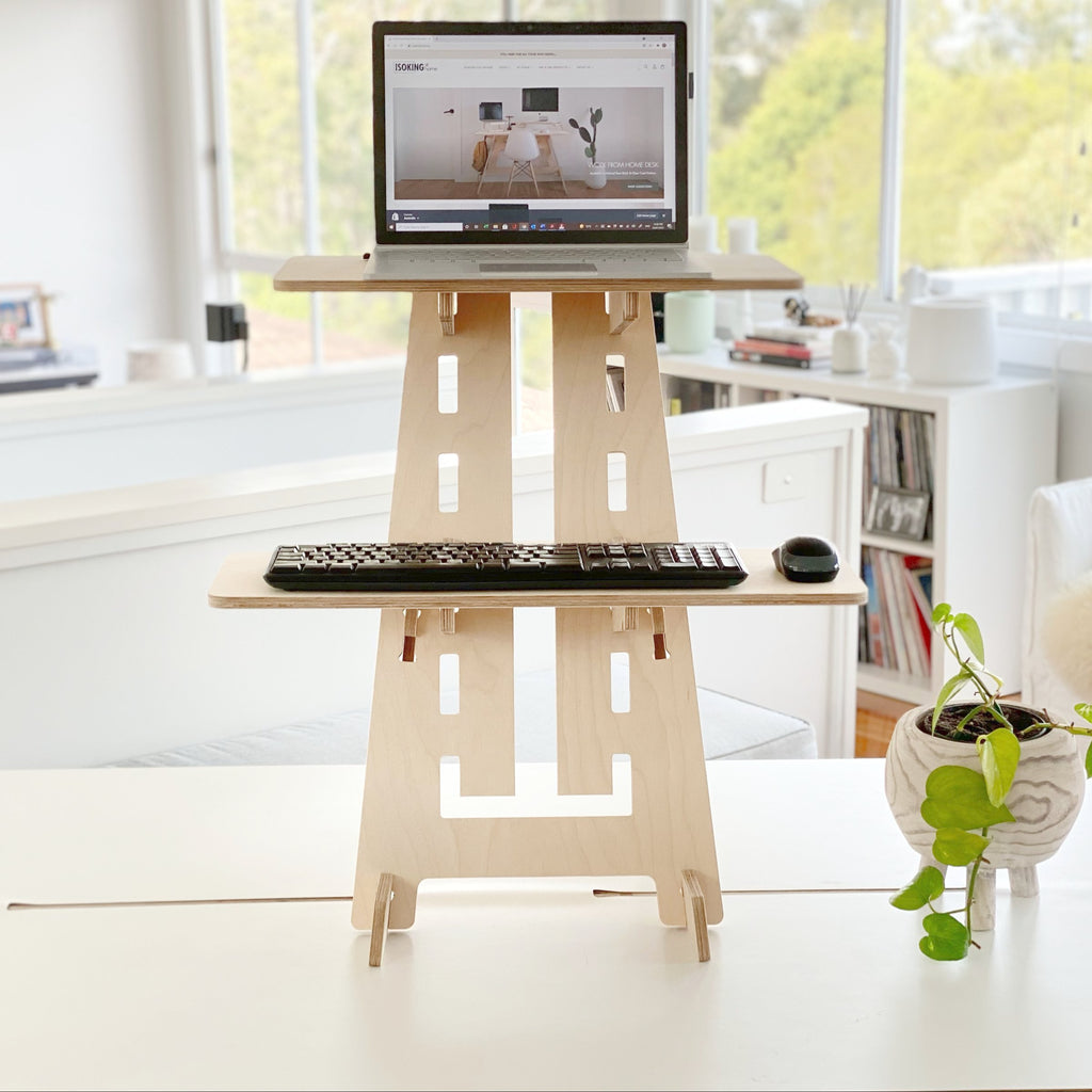 sit stand desk for laptop