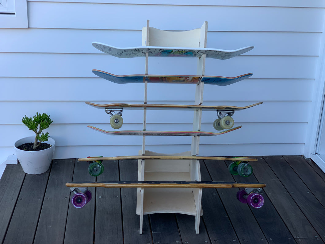 IsoKing Skateboard Rack