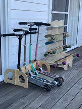 Load image into Gallery viewer, IsoKing Skateboard Rack