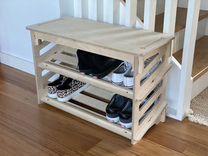 IsoKing Shoe Rack with Seat