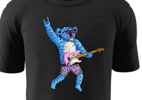 Live For Support Act - Limited Edition Tee - Kendrick The Shredder Koala