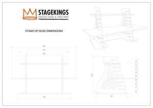 IsoKing Desk Bundle
