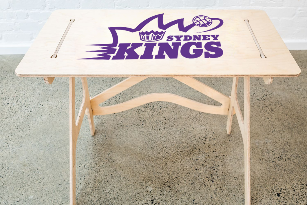 Official NBL Sydney Kings Club Logo Space Saver