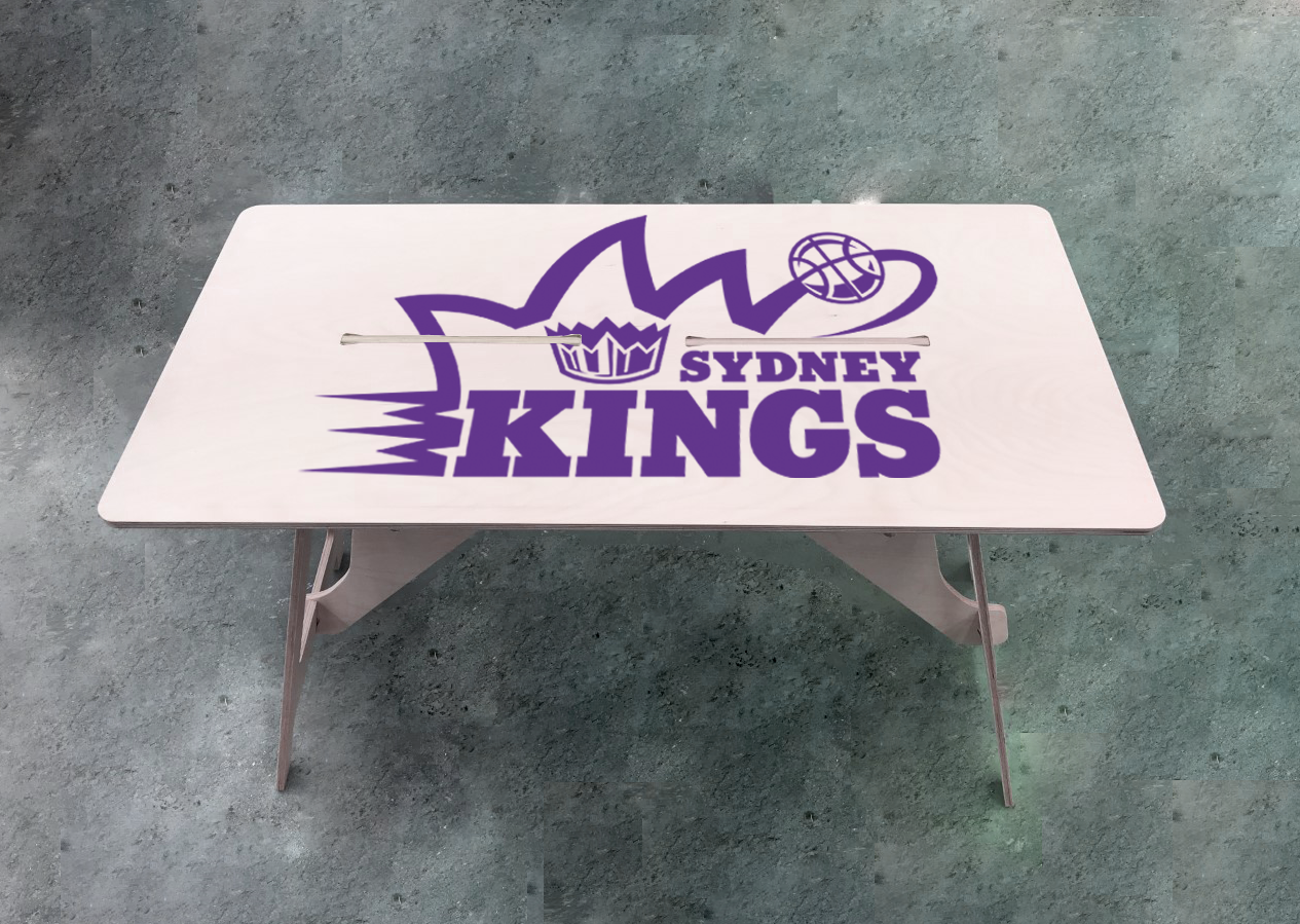 Official NBL Sydney Kings Club Logo IsoKing Desk