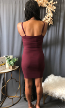 Load image into Gallery viewer, Simply Cute Dress (Wine)
