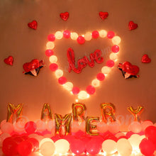 Load image into Gallery viewer, Marry Me Proposal at Home Kit Decoration Balloon Kit DIY Decoration Party Supplies
