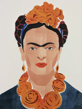 Load image into Gallery viewer, Frida Kahlo Portrait Print