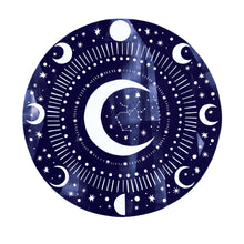 Load image into Gallery viewer, Personalised 'Zodiac Moon' Decorative Moon And Zodiac Constellation Limited Edition Fine Art Print