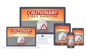 Cautionary Email Marketing Upgrade Package