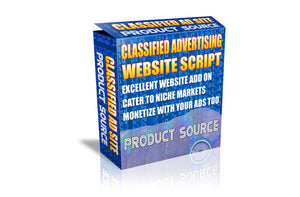 Classified Advertising Website Script