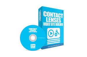 Contact Lenses Video Site Builder