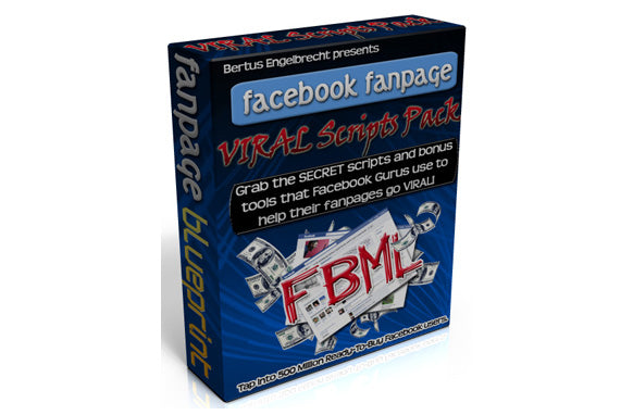 Facebook Fan Page Viral Script Pack