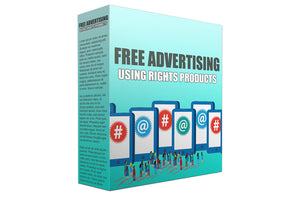 Free Advertising Using Rights Products