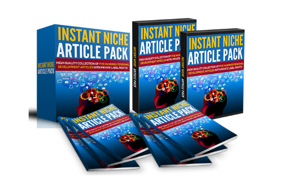 Instant Niche Article Pack 2000+