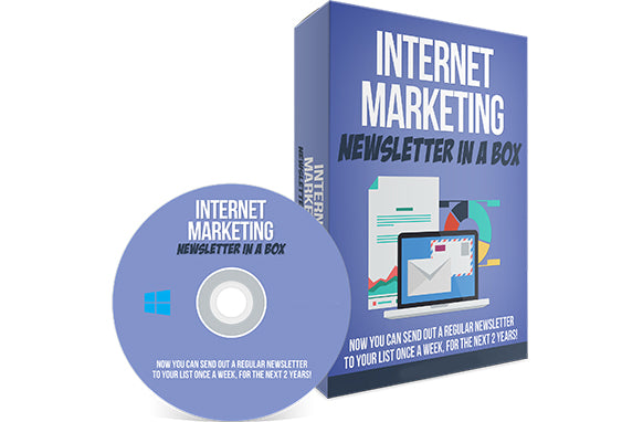 Internet Marketing Newsletter In A Box