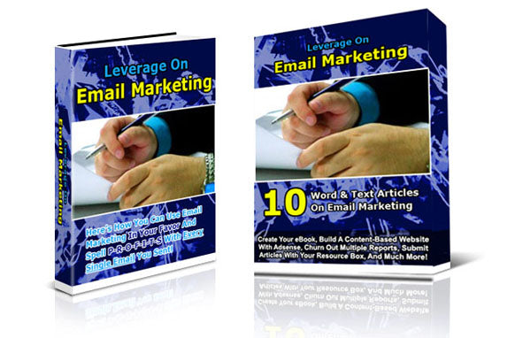 Leverage on Email Marketing Twin Pack