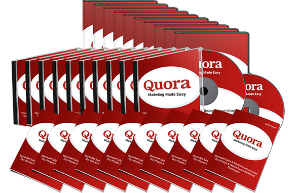 Quora Marketing Made Easy Upgrade Package