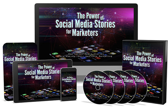 The Power of Social Media Stories for Marketers Upgrade Package