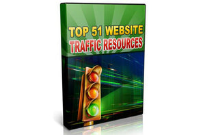 Top 51 Website Traffic Resources