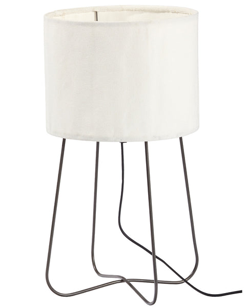 white-folk-metal-table-lamp