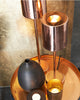 Boop Contemporary Copper Table Lamp-lifestyle-close up