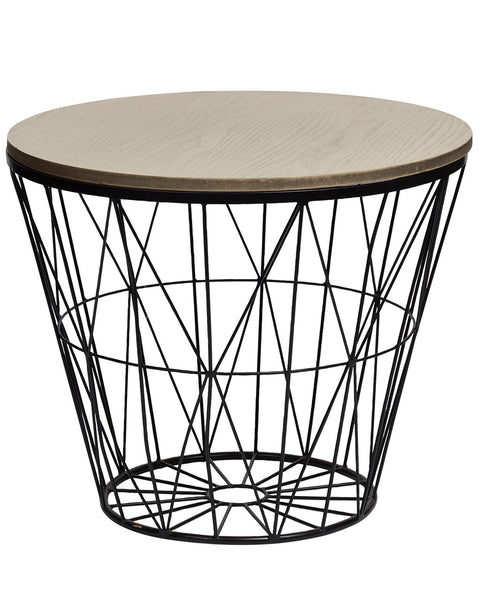 black-chillout-industrial-metal-and-wood-side-table