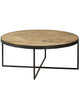 Manufacture Industrial Round Coffee Table