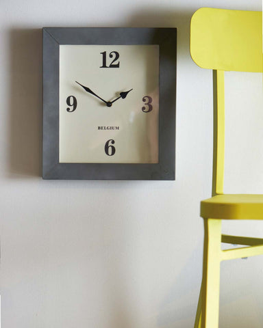 Paddington Contemporary Rectangular Wall Clock