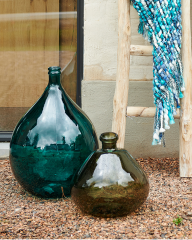 Fado Decorative recycled Glass Bottle