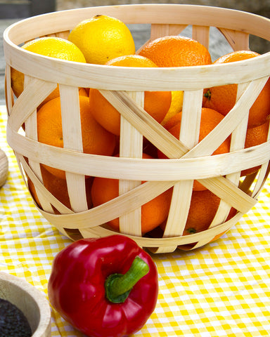 Splint Bamboo Basket