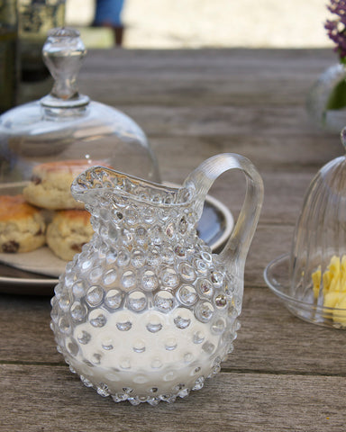Small Hobnail Pitcher
