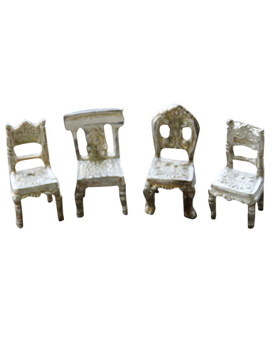 Set of 4 Mini Chair Cardholders
