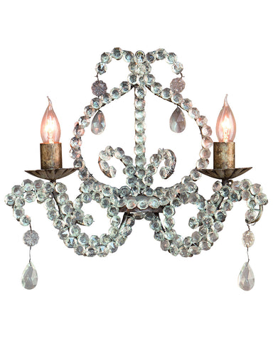 Opera Crystal Wall Light