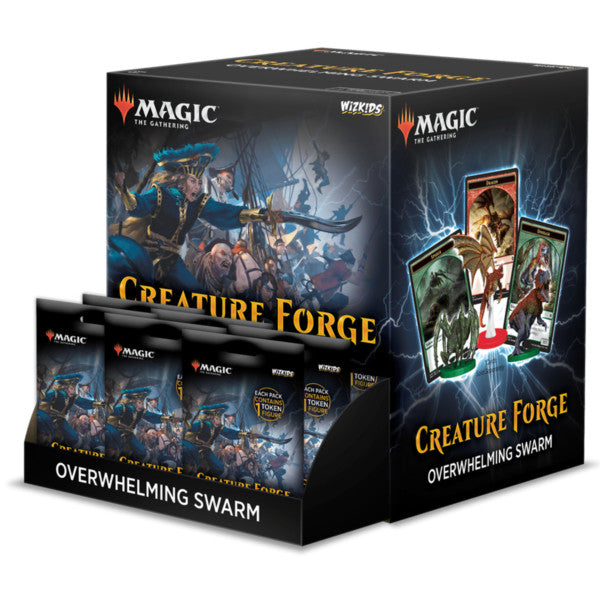 Magic The Gathering - Creature Forge - Overwhelming Swarm Gravity Feed Display