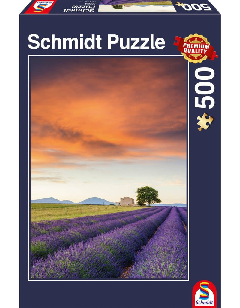 Field of Lavender, Provence 500 Pieces