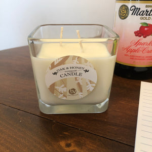 Oak & Honey double wick candle