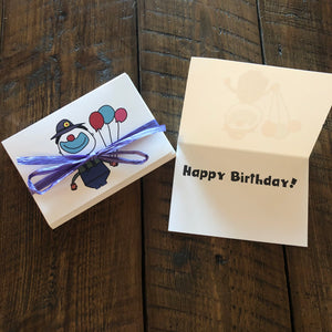 Clown Birthday Cards