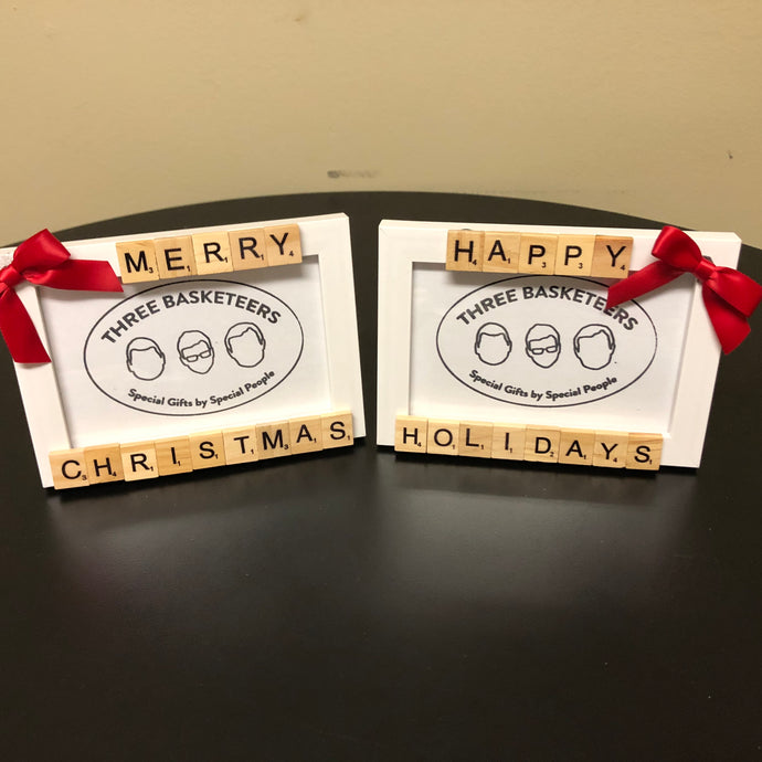 Holiday Edition: Custom Tile Picture Frame