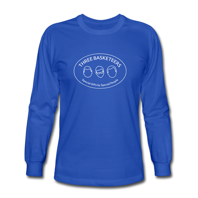Basketeers Logo Long Sleeve T-Shirt - royal blue