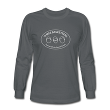 Load image into Gallery viewer, Basketeers Logo Long Sleeve T-Shirt - charcoal
