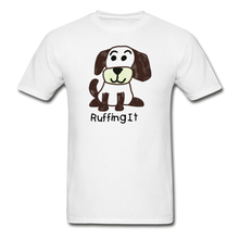 Load image into Gallery viewer, Happy Puppy Adult Tagless T-Shirt - white