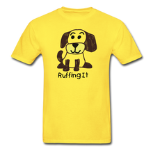 Load image into Gallery viewer, Happy Puppy Adult Tagless T-Shirt - yellow