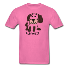 Load image into Gallery viewer, Happy Puppy Adult Tagless T-Shirt - hot pink