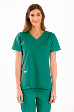 Load image into Gallery viewer, V neck scrub medical top